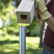 Home Dzine Home Diy Easy Garden Fence Easy Fence Diy Fence Building A Fence
