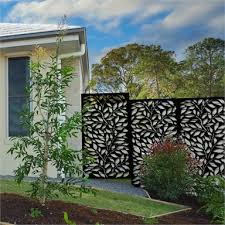 Matrix 1810 X 905 X 9mm Charcoal Jungle Decor Screen With Frame