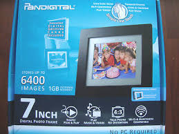 pan7000dw 7 inch digital picture frame