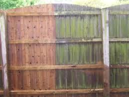 Power Washing Wood Fence Pressure Washing Wood Fence Deck Restoration