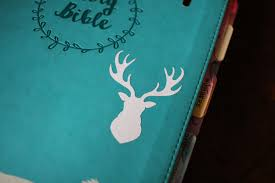 Deer Head Bullet Journal Decal Multiple Sizes Available Laptop Decal Laptop Stickers Car Decal Window Decal Bullet Journal Stickers Vinyl Decal The Leather Quill Shoppe
