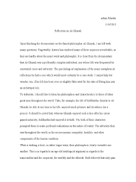 Reflection on Al-Ghazali | Psychological Attitude | Propositional Attitudes
