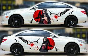 Naruto Uchiha Itachi Anime Car Side Body Door Vinyl Sticker Decal Fit Any Car Ebay
