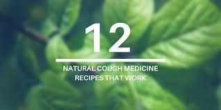 12 natural homemade cough cine