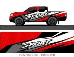 Truck Graphic Background Kit Vector Graphic Kit Car Decals Vinyl Truck Graphics
