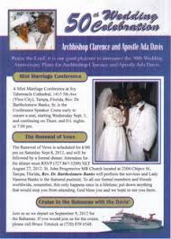 53 Best Archbishop Clarence and Apostle Ada Davis! images | 50th ...