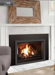e30 short gas fireplace insert