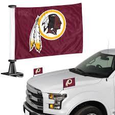 Nfl Flag Washington Redskins Ambassador 4 X 6 Car Flag Set Of 2 84807 Eagle Mountain Flag