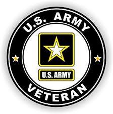Amazon Com Military Vet Shop Magnet U S Army Veteran Vinyl Magnet Car Fridge Locker Metal Decal 3 8 Automotive
