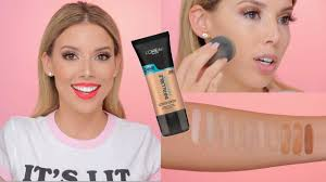 l oreal pro glow foundation review