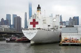 Navy ship meant to help New York with coronavirus sits idle ...