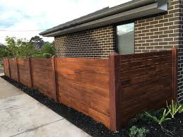 Merbau Fencing Panels And Timbers Fencing Melbourne Out Deco Living