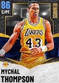 NBA 2K21 | 2KDB SAP Mychal Thompson (86) Complete Stats