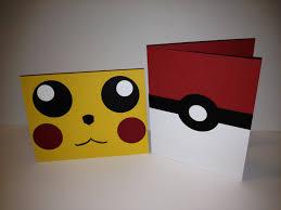 Pokemon Cards Pikachu Pokaball Tarjetas De Cumpleanos Para