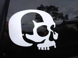 Oregon Ducks Decal Duck Skull Vinyl Car Sticker 472905911
