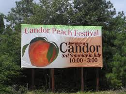 Festival of the Peach: Candor Is the Scene - NC Folk