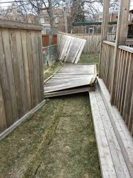 Three 6 Foot Tall X 8 Wide Fence Panel Repairs