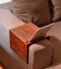 couch arm table custom sofa arm tray