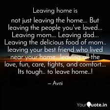 not just leaving the home quotes writings by avpreet arøra