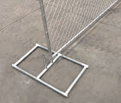 Temporary Removable Chain Link Fence