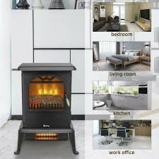 1500w electric fireplace heater wood