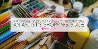 art supplies in the philippines