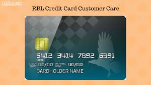 rbl credit card customer care numbers e