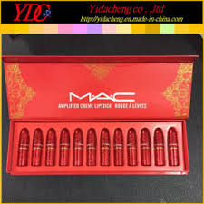 12 pieces red box lified lipstick