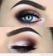 rose burgundy and black eye makeup