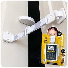 Amazon Com Door Buddy Child Proof Door Lock And Foam Baby Door Stopper Baby Proofing Doors Made Simple With Easy To Use Hook And Latch Keep Baby Out Prevent Finger Pinch Injuries