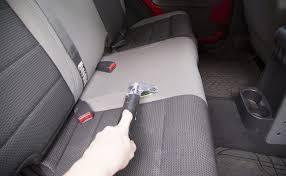 how to steam clean car seats clean