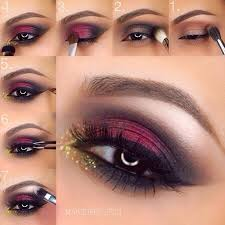 eye makeup for blue eyes and red hair