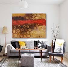 horizontal abstract wall art print