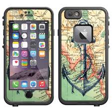 Skin Decal For Lifeproof Iphone 6 Case Nautical Anchor Decal Not A Case Walmart Com Walmart Com