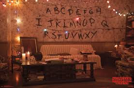 stranger things alphabet walmart
