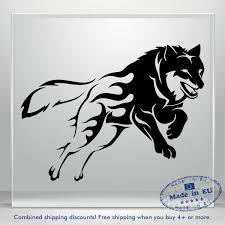 Wolf Car Decal Animal Truck Window Decals Vinyl Sticker Decor Bumper Laptop 3m Ebay