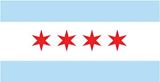 Amazon Com Jmm Industries Chicago City Flag Illinois Vinyl Decal Sticker Chi Town Car Window Bumper 2 Pack 5 Inches By 3 Inches Premium Quality Uv Resistant Laminate Pds357 Automotive