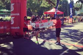 It was a sunny and fast day at the Scotiabank Vancouver half ...