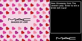 mac cosmetics gift card giveaway