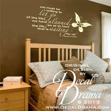 We Must Be Willing To Let Go Of The Life Planned For The Life That Is Waiting Us Vinyl Wall Decal On Storenvy
