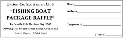 template free raffle ticket template