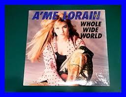 ヤフオク! - A'me Lorain/Whole Wide World/US Original/3点...