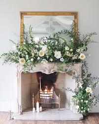 fireplace mantel fl arrangement