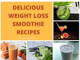 7 weight loss smoothie recipes that ll