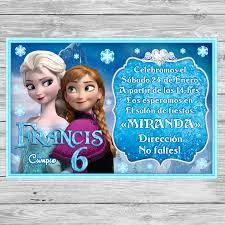 Gratis Frozen Invitacion De Cumpleanos Para Imprimir Fiesta