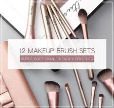 brush set with handle makeup brush