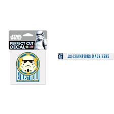 Ucla Bruins Official Ncaa Star Wars Storm Trooper Die Cut Car Decal And Automotive Car Decal Sticker 2x17 Bundle 2 Items Walmart Com Walmart Com