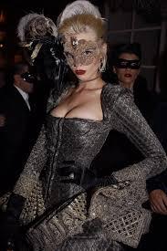 wear makeup inside masquerade masks