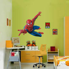 Us Diy 3d Spider Man Removable Vinyl Wall Decal Stickers Kids Room Home Decor