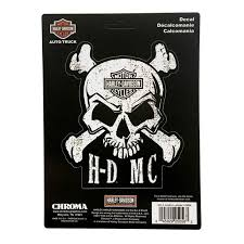 Harley Davidson Skull Crossbones Stick Onz Decal Set 6 X 8 Inches Cg25056 Harley Davidson Walmart Com Walmart Com